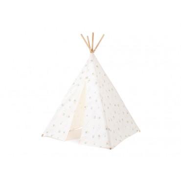 Tipi Phoenix Aqua Eclipse White-Nobodinoz-Trésors d'Enfance à Rodez-jeux-jouets-cadeau