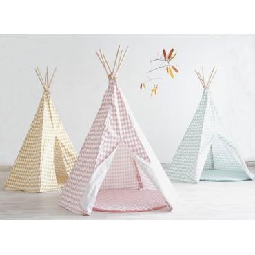 Tipi Arizona Pink Diamons- NOBODINOZ - Trésors d'Enfance à Rodez-tentes-cabanes