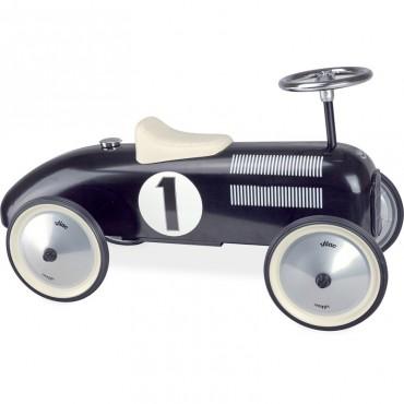 Porteur Voiture Vintage en métal Noir - Vilac - Trésors d'Enfance à Rodez-jeux-jouets