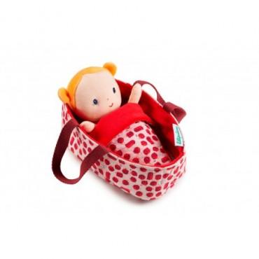 Bébé Agathe - Lillipuciens - Trésors d'Enfance à Rodez-poupée chiffon