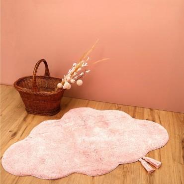 Tapis coton Kumo Rose - Nattiot - Trésors d'Enfance à Rodez-cadeau