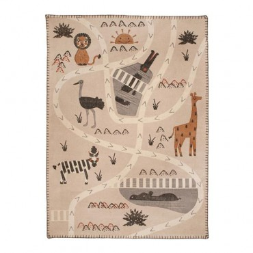 Tapis Little Savannah - Nattiot - Trésors d'Enfance à Rodez-cadeau-jeux-jouets