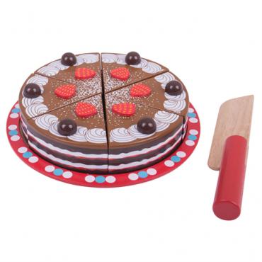Gâteau au chocolat à...