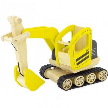 Pelleteuse en bois - Pintoy - Trésors d'Enfance à Rodez-jouet en bois-bébé-enfants-cadeau