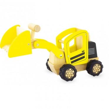 Tractopelle en bois - Pintoy - Trésors d'Enfance à Rodez-jouet en bois