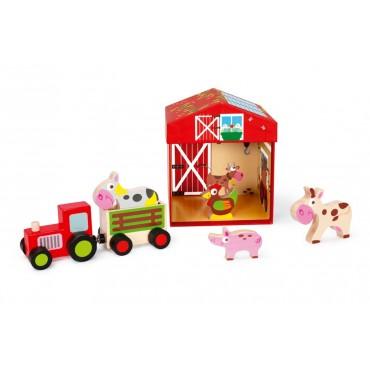 Boîte à Jouets Ferme 2 en 1 - Scratch - Trésors d'Enfance à Rodez-enfants-bébés
