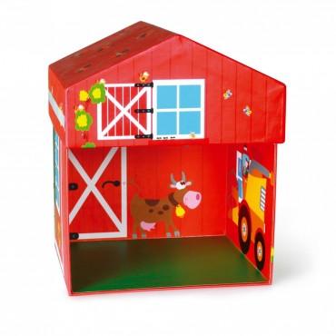 Boîte à Jouets Ferme 2 en 1 - Scratch - Trésors d'Enfance à Rodez-jeux d'imagination