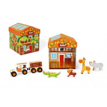 Boîte à Jouets Safari 2 en...