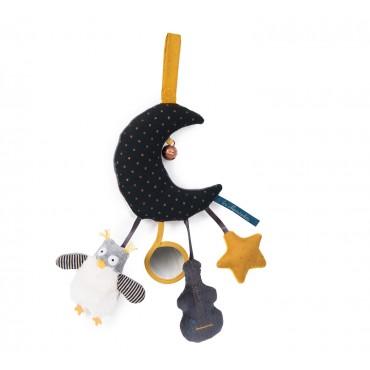 Lune d'activité Les Moustaches - Moulin Roty - Trésors d'Enfance à Rodez-cadeau-naissance-enfant-bébé