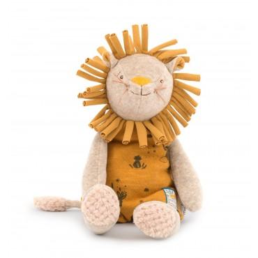 Peluche Lion Paprika Sous mon baobab - Moulin Roty-enfant-bébé