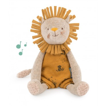 Peluche musicale Lion Sous mon Baobab - Moulin Roty - jeu-jouet