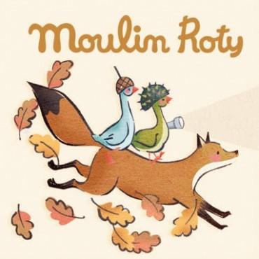 Disques pour lampe à histoire Le Voyage d'Olga - Moulin Roty - Trésors d'Enfance à Rodez