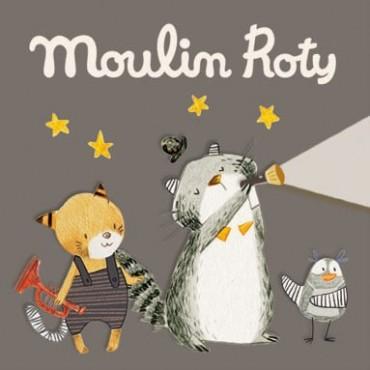 Disques pour lampe à histoire Les Moustaches - Moulin Roty - Trésors d'Enfance à Rodez