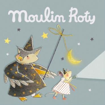 Disques pour lampe à histoire Il était une fois gris - Moulin Roty - Trésors d'Enfance à Rodez