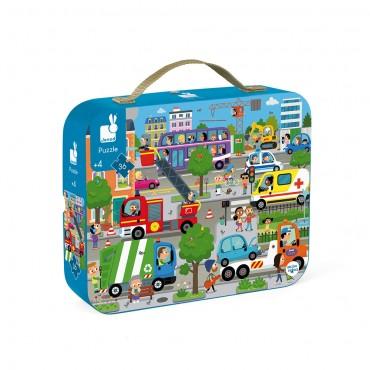 Puzzle City 36 pièces - Janod