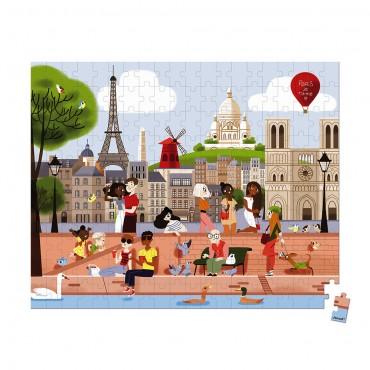 Puzzle Paris 200 pièces -...