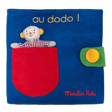 Livre tissu Au dodo Les...