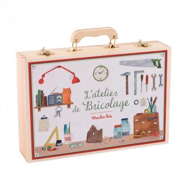 Grande valise de bricolage...