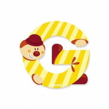 Lettre Clown G - Janod