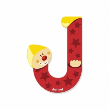 Lettre Clown J - Janod
