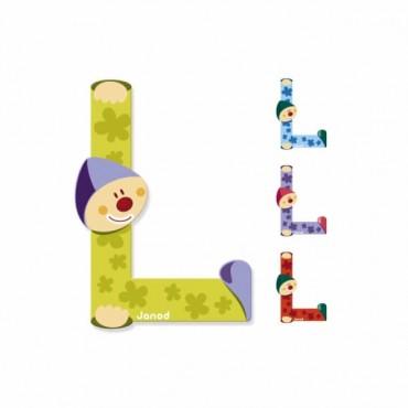 Lettre Clown L - Janod