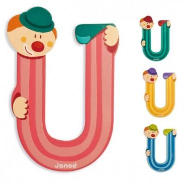 Lettre Clown U - Janod