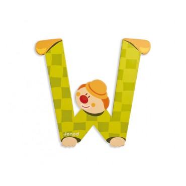 Lettre Clown W - Janod
