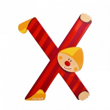 Lettre Clown X - Janod