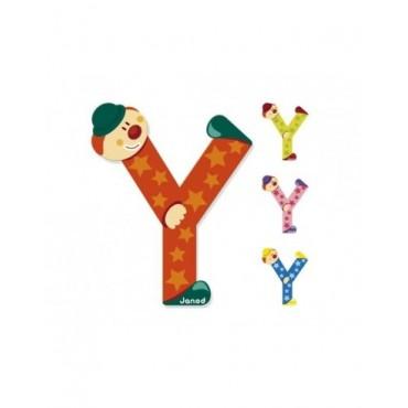 Lettre Clown Y - Janod