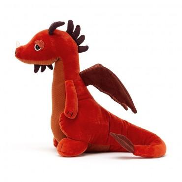 Peluche Dragon Paprika -...