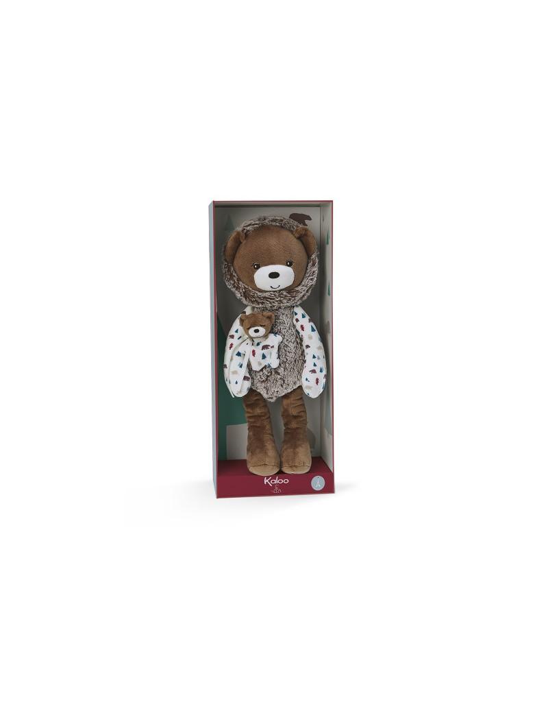 Peluche Pantin Ourson Gaston 40 cm - Kaloo - Trésors d'Enfance à Rodez