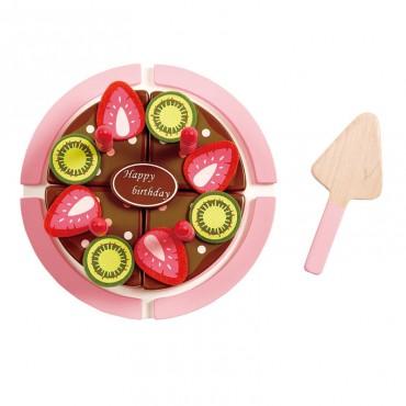 Gâteau fraise chocolat à...