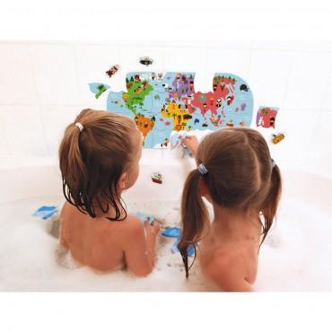 Puzzle Carte des...