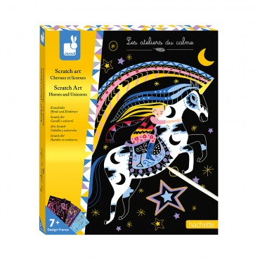 Kit créatif Scratch Art -...