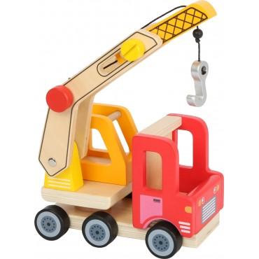 Camion grue en bois - Small...