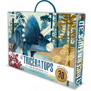 Maquette 3D Le Tricératops...