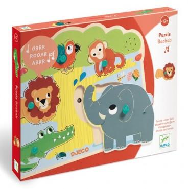 Puzzle sonore : Baobab - Djeco