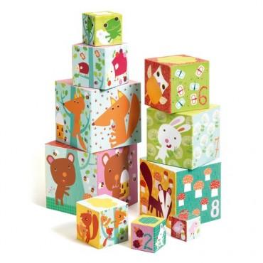 Cubes à empiler : Forêt -...