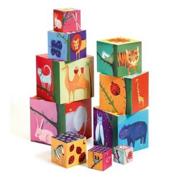 Cubes gigognes : Nature et...
