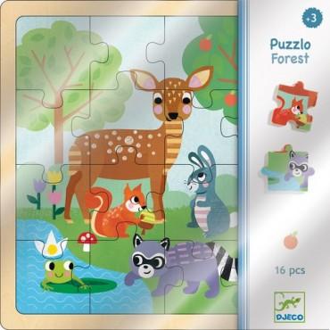Puzzle 16 pièces 3 ans :...