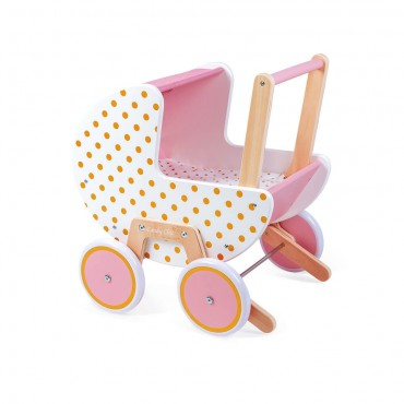 Landau Candy Chic en bois -...