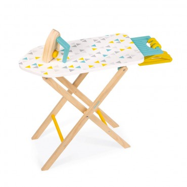 Table à repasser en bois -...