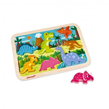 Chunky Puzzle Dinosaures...
