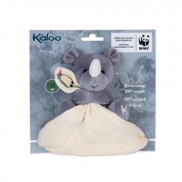Doudou mouchoir Rhino WWF -...