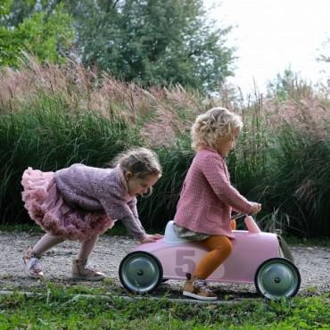 Porteur en Métal Rider Petal Pink - Baghera - Trésors d'Enfance à Rodez