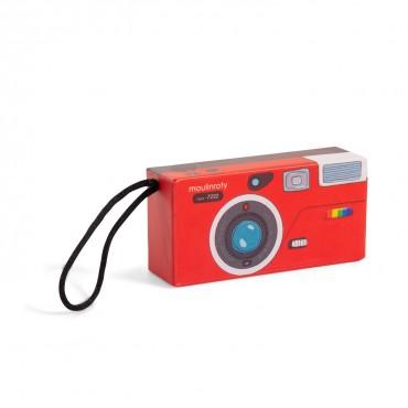 Appareil photo espion rouge...