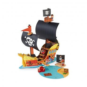Bateau de pirates - Janod