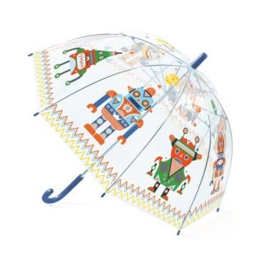 Parapluie : Robots - Djeco Trésors d'Enfance à Rodez