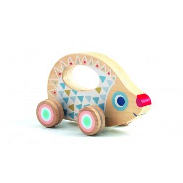 jouet à pousser babyrouli djeco trésors d'enfance rodez
