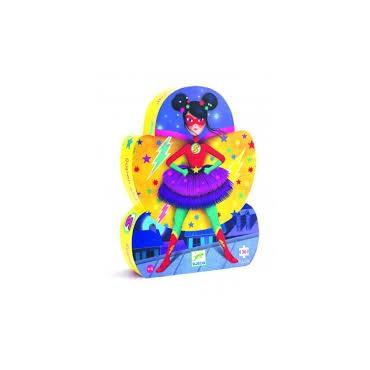 Puzzle 36 pièces : Super Star - Djeco Trésors d'Enfance Rodez